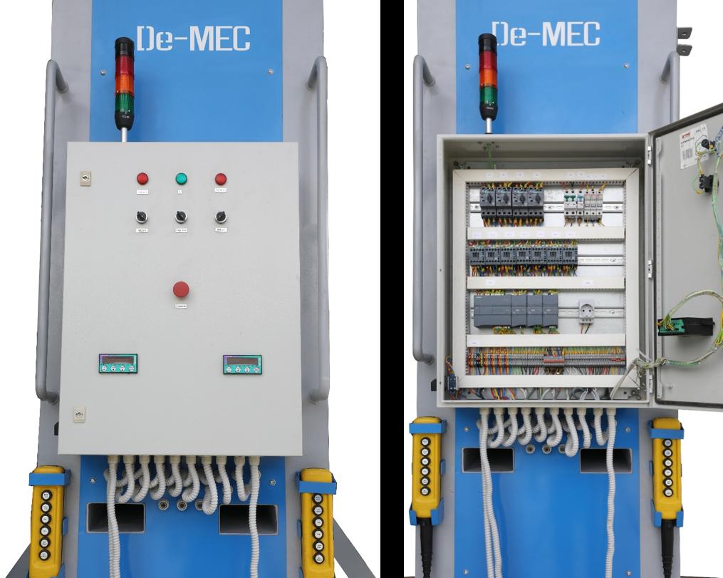 Twin Jumbo Machine Control Panel