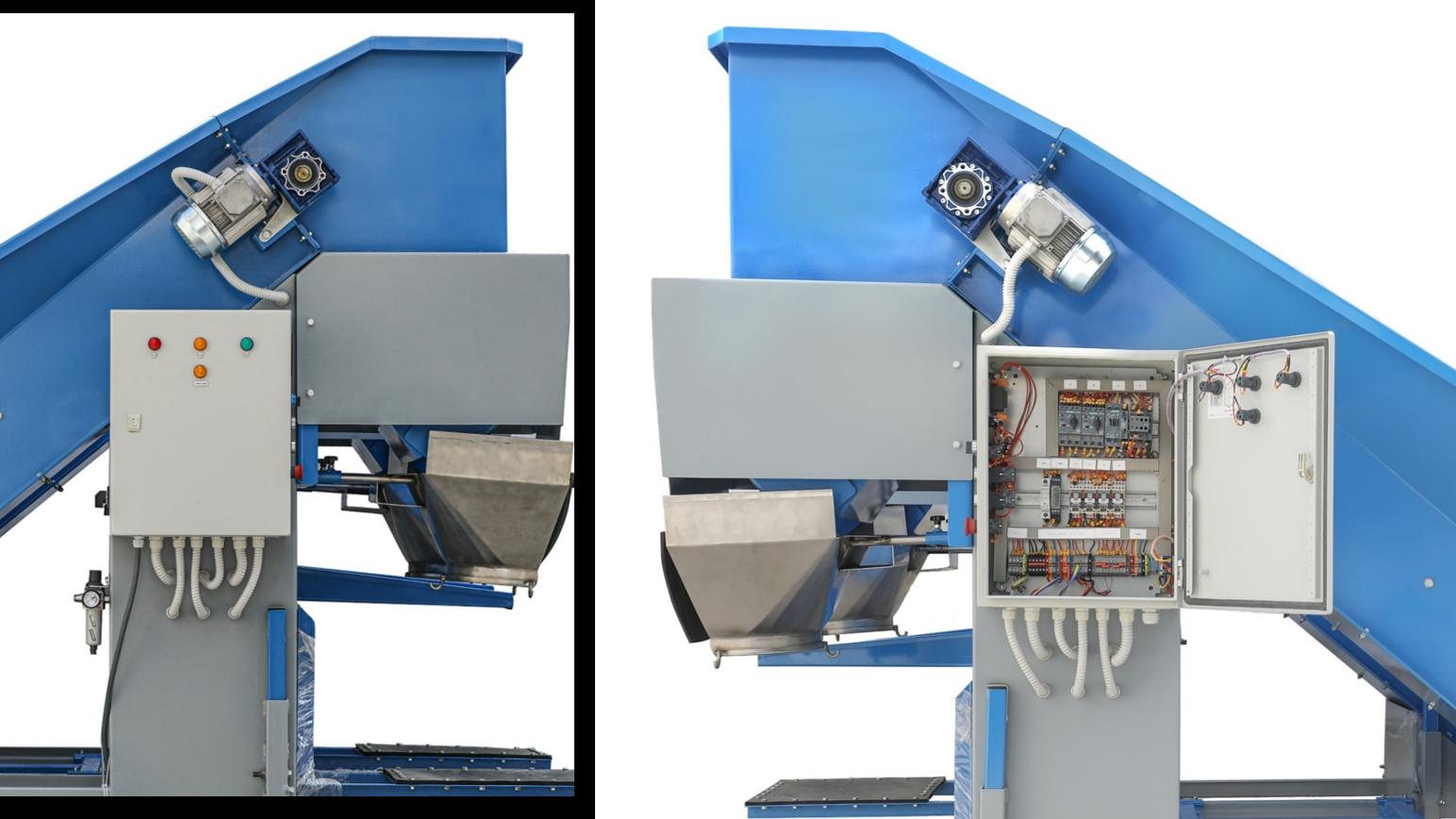 Twin Head Machine Control Panel