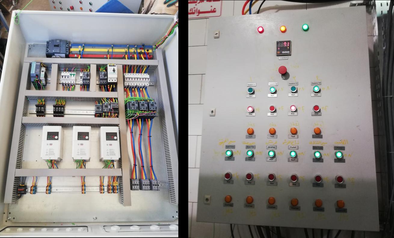Sweet Potato Line Control Panel