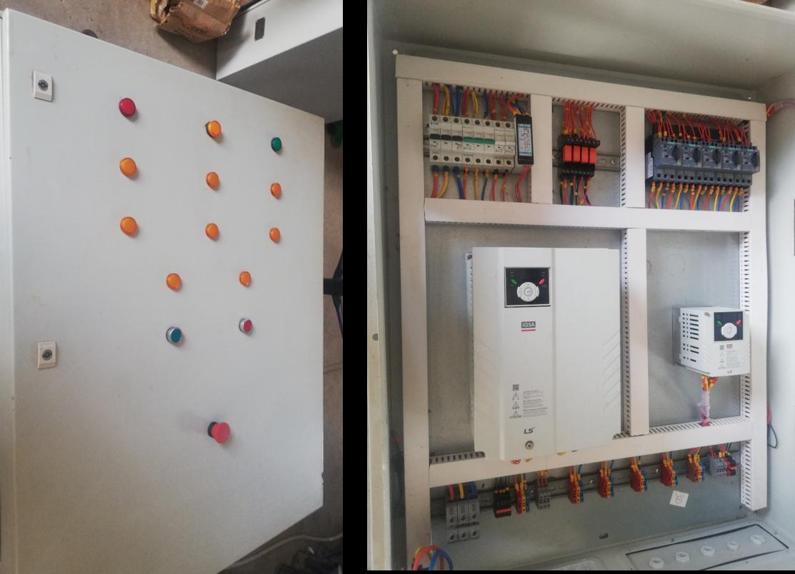 Gravity Separator Machine Control Panel